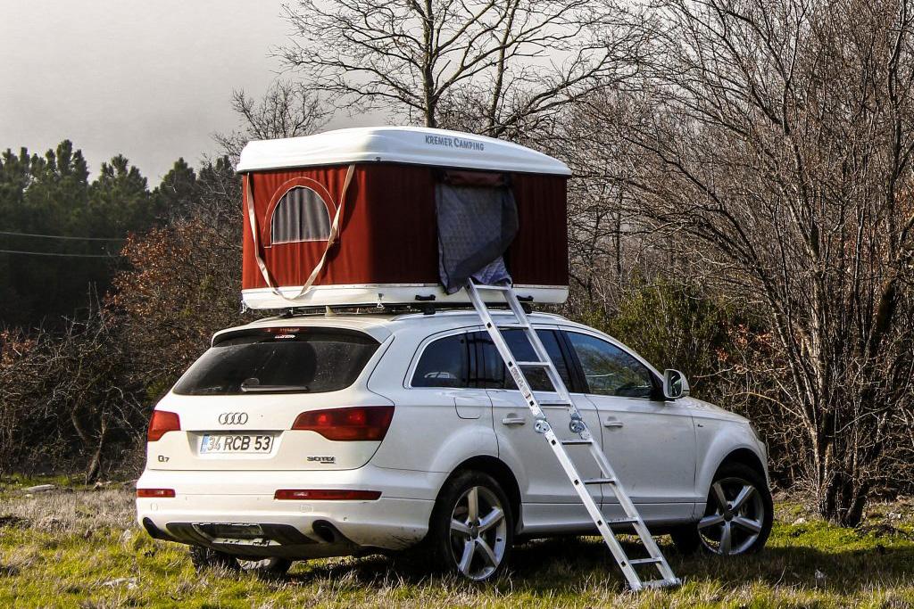 Campeggio : kremer camping tenda da tetto